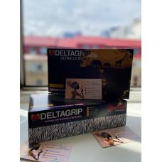 Перчатки нитриловые DELTAGRIP, черные, 4 гр,  50 пар
