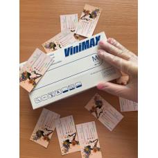 Перчатки Nitrimax, виниловые, белые, 50 пар
