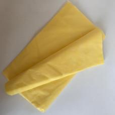 Простыня, SMS, 15г/м2 желтая, (70*200 см; 80*200 см)10шт.
