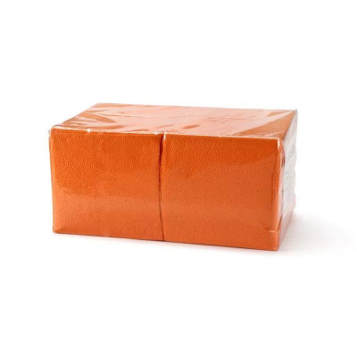 Салфетки 400*400 мм, SMS 20г/м2, 100шт, оранжевая