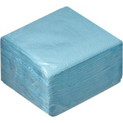 Салфетки 400*400 мм, SMS 20г/м2, 100шт, голубая.