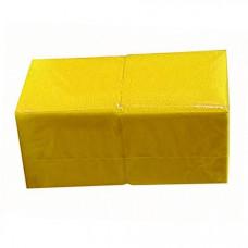 Коврики 400*400 мм, SMS 20г/м2, 100шт, желтая