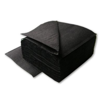Салфетки 400*400 мм, SMS 20г/м2, 100шт, черная