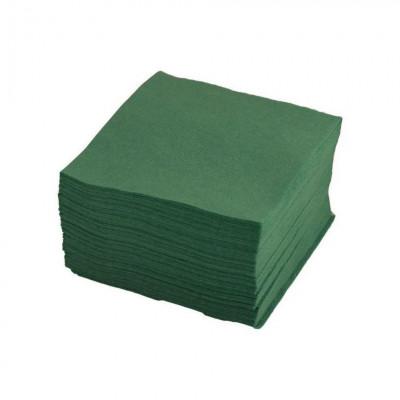 Салфетки 400*400 мм, SMS 20г/м2, 100шт, зеленая.