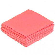 Коврики 400*400 мм, SMS 20г/м2, 100шт, розовая