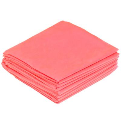 Салфетки 400*400 мм, SMS 20г/м2, 100шт, розовая